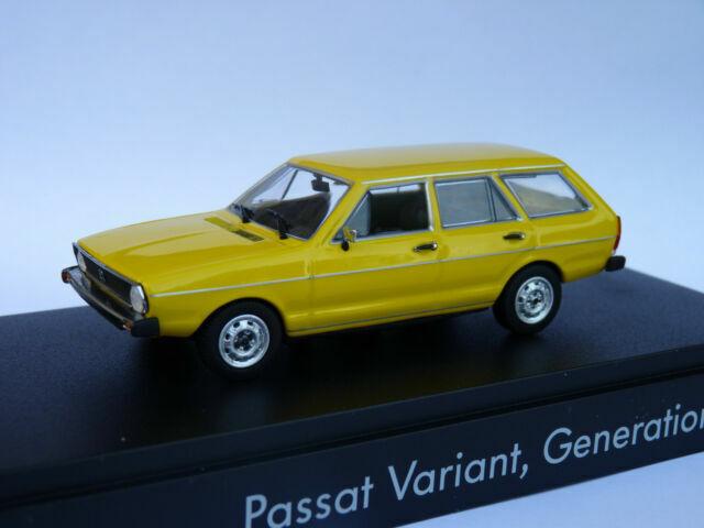 Minichamps 1:43 VW Passat Variante amarillo
