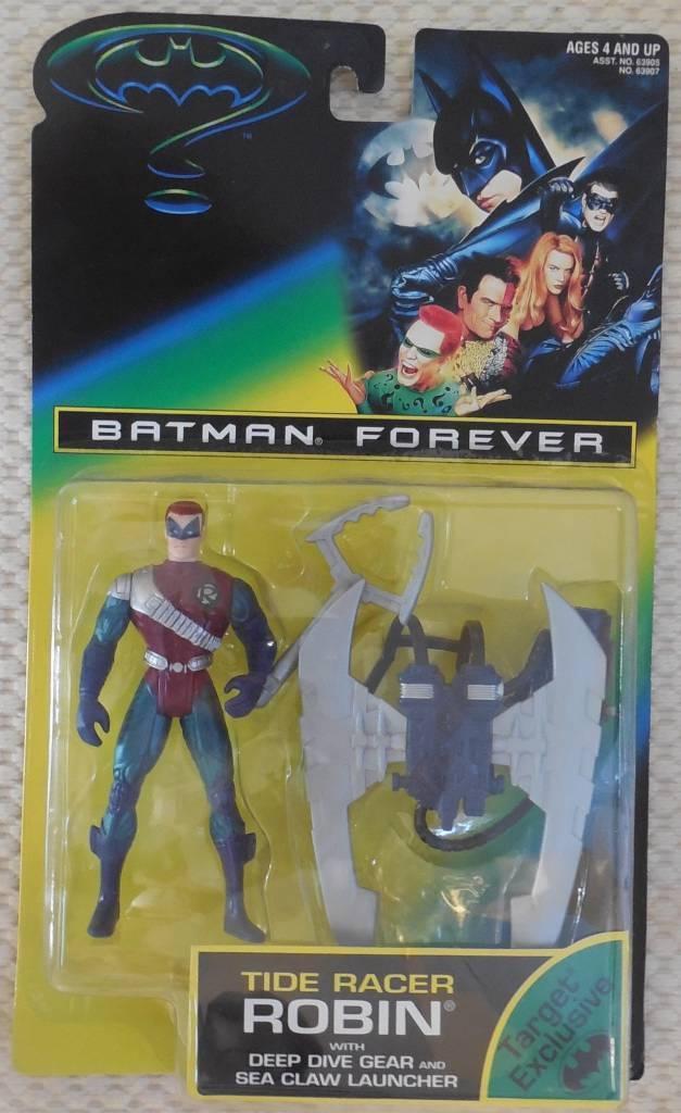1995 Batman Forever TIDE RACER ROBIN w  Dive Gear Launcher Action Figure SEALED