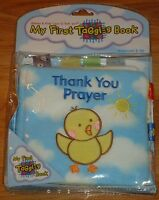 My First Taggies Book: Thank You Prayer By Will Grace Babies Soft Plush Book