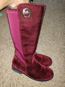 size 3 michael kors boots