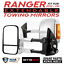 BettaView-Extendable-Towing-Mirrors-FORD-RANGER-2012-To-Current-Chrome-Smoke-Ind thumbnail 1