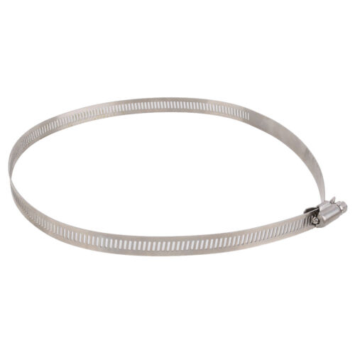 1 Pcs Stainless Steel Hoop Hose Ducting Clamps Hydroponic Duct Hoop 7.8 inch