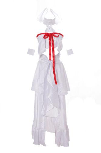 Mn-22 Asuna Sword Art Online ALfheim Elfe blanc Set Anime Cosplay Robe costume