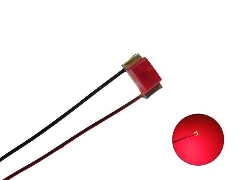 S1120 - 5 Pieza SMD LEDS 0603 Rojo Rojo Rojo difusa CON ALAMBRE DE COBRE ESMALTADO Cable  ventas en linea