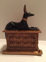 Veronese Egyptian Anubis On Base 2000 (Signed)