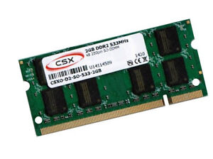 2GB Notebook Speicher DDR2 RAM 533 Mhz SO DIMM PC2-4200S 200 pin CSX