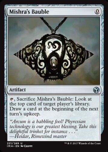 1x Mishra/'s Bauble MTG Iconic Masters NM Magic Regular