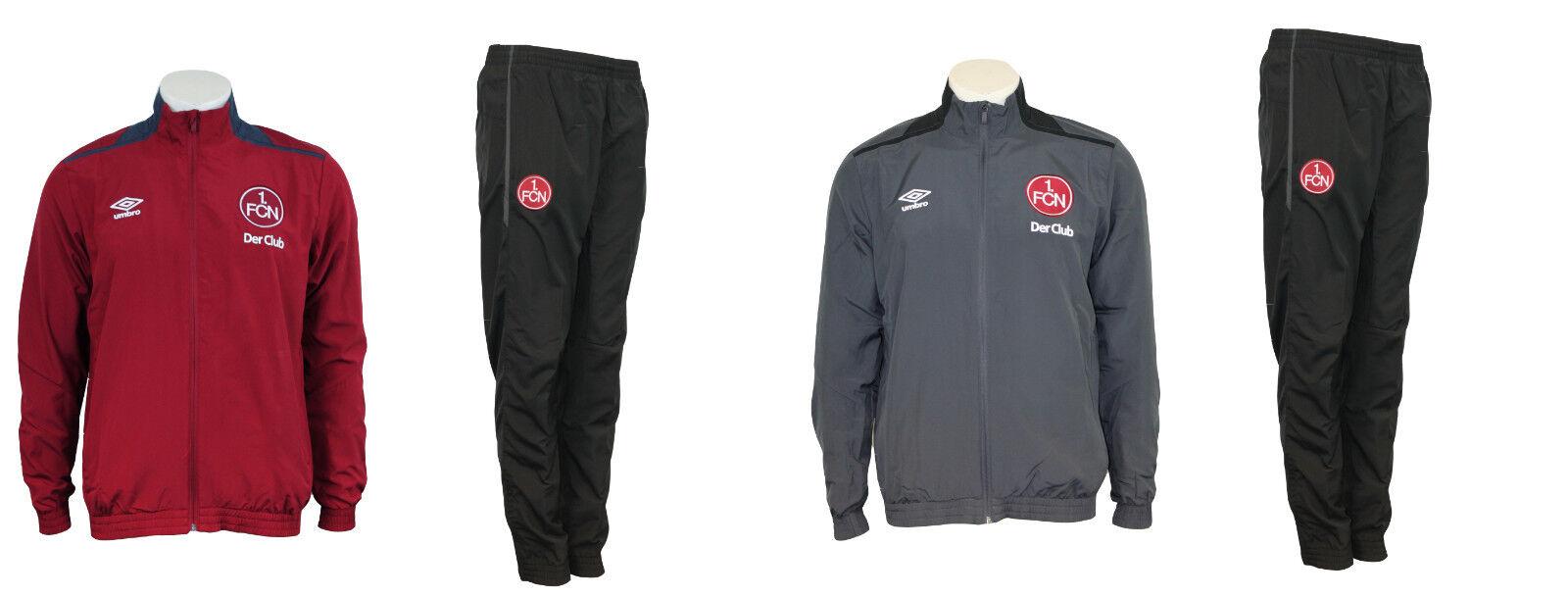 -NEU- UMBRO 1. FC Nürnberg Trainingsanzug Präsentationsanzug /  ab