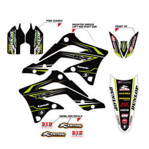 SUPERCROSS DECAL 1999-2002 KAWASAKI KX 125 250 KX125 KX250 GRAPHIC MOTOCROSS