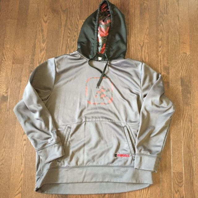 And1 Basketball Hoodie Mens Size L