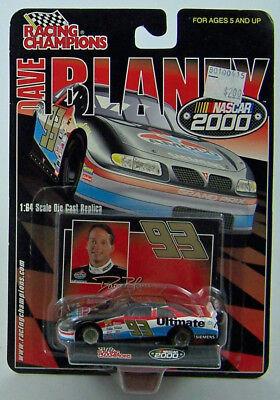 NEW 2000 AMOCO  93 DAVE BLANEY RACING CHAMPIONS 1:64 SCALE PONTIAC STOCK CAR MIP
