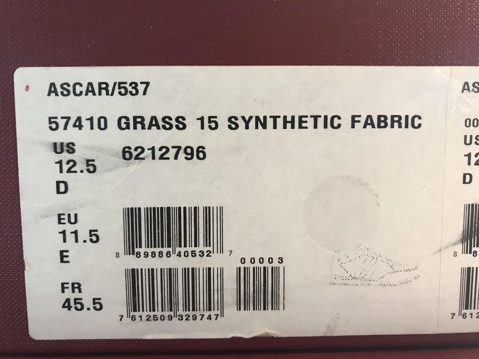 700  Bally Ascar  Grass Pelle  size   Ascar 12.5 Made In Italy 23f1d0