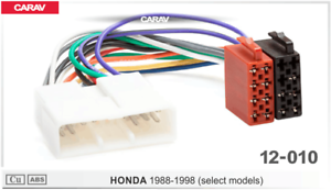 ISO-DIN-Kabel-Adapter-passend-fuer-Honda-Accord-Civic-Jazz-Legend-NSX-1985-1995