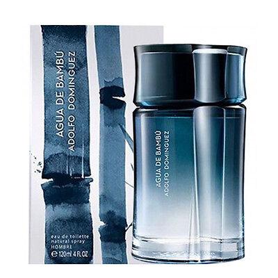 AGUA DE BAMBU de ADOLFO DOMINGUEZ Colonia Perfume EDT 120 mL Hombre Man | eBay