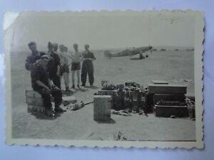foto-2-weltkrieg-luftwaffe-Jagdflieger-me109-5-Jg-52-russland