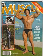 Muscle Training Dan Lurie Bodybuilding magazine Mario Nieves/Al Oerter 7-79