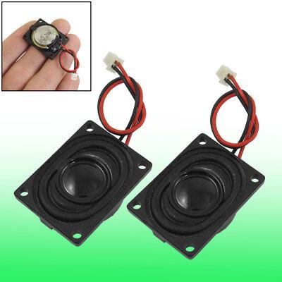 7mm x 20mm Internal Speaker Loudspeaker 8 Ohm 2 Watt 2 Pcs
