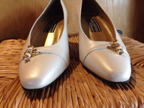 Chaussures 5 crème Weitzman strass Gr6 Escarpins Stuart de étroites Orné POw80XNknZ