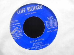 CLIFF-RICHARD-SPANISH-E-P-NO-PIC-SLEEVE-TITLES-IN-SCANS-034-EX-COND