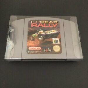 Top Gear Rally para el Nintendo 64/N64 - en muy buena condición/Vitrina/probado/trabajo