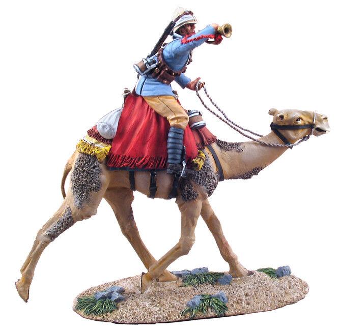 Britains Sudan Guerra 27042 Inglese Camel Esercito Montaggio Trombettiere di  1