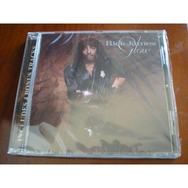 CD Album Rick James (Glow) 1985 New/Neuf S/S Sealed