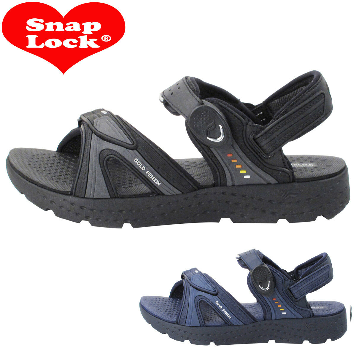 Anti-Fatigue EVA Cushioned Light Weight Easy Closure Sandals gold Pigeon shoes