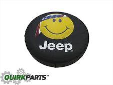 1997-2016 Jeep Wrangler 97-10 Liberty Spare Tire Cover SMILEY FACE MOPAR OEM NEW