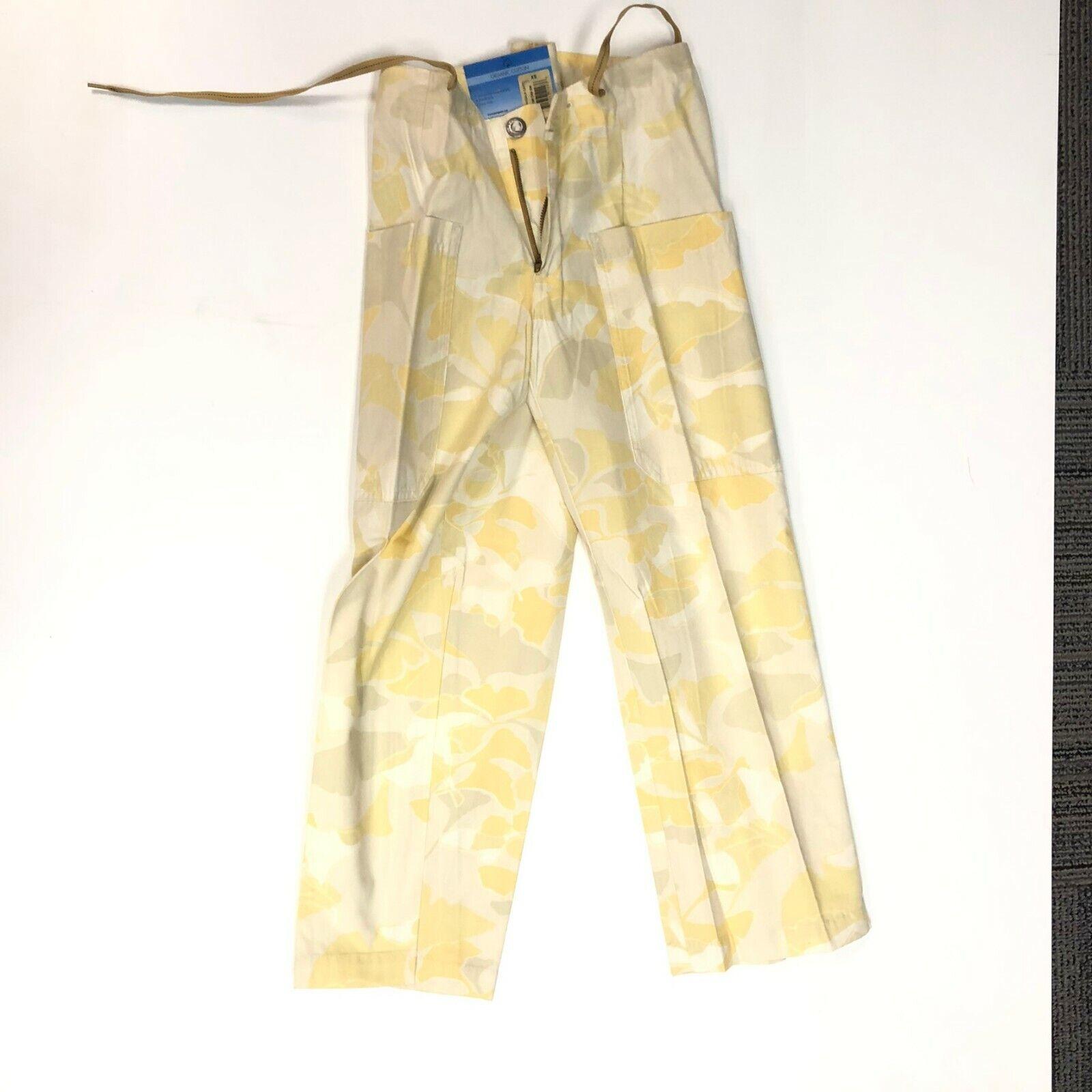 Patagonia - Woman's yellow Hiking Capri Pants SIZE XS