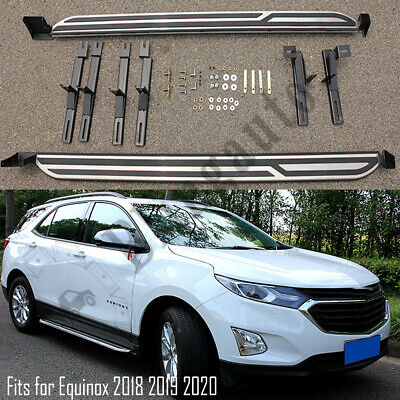 Fits for Chevrolet Equinox 2018 2019 2020 running board nerf bars side steps