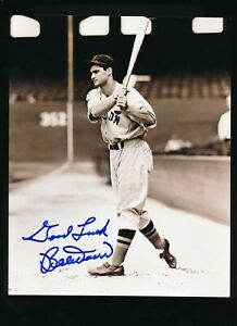 BOBBY DOERR signed autographed 8x10 photo Red Sox crisp blue signature swsw6