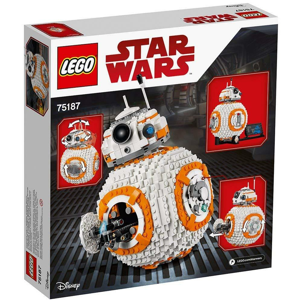 BRe nuovo SEALED -  LEGO estrella guerras VIII BB-8 75187 costruzione Kit (1106 Piece)  Felice shopping