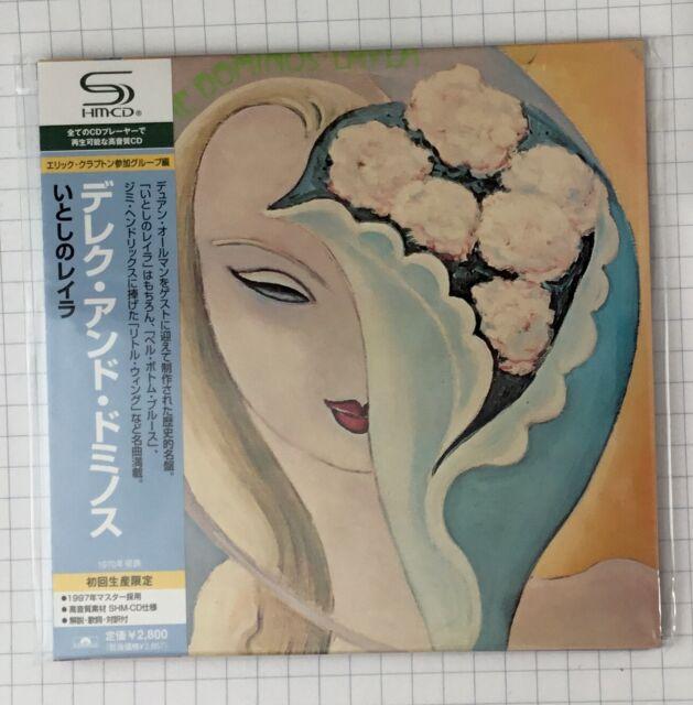 DEREK & THE DOMINOS - Layla and Other JAPAN SHM MINI LP CD OBI NEU UICY-93701