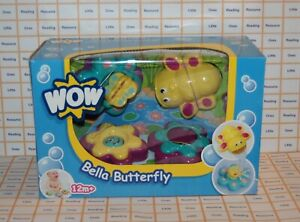 WOW-Toys-BELLA-BUTTERFLY-Pouring-amp-Squirting-Activity-Bath-Toy-4-Piece-Set