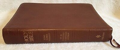 Open Bible KJV It is Written Heritage Edition Thomas Nelson 1st Ed Brown Leather