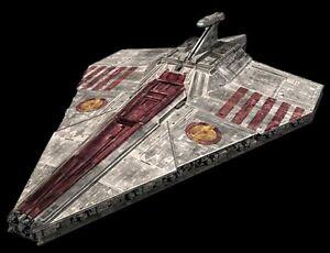 Acclamator Class Assault Ship Star Wars Wood Model Replica