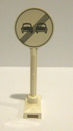 1 x LEGO® Verkehrsschild,Verkehrszeichen,Hinweisschild Stadt,City,Town,Strasse.L