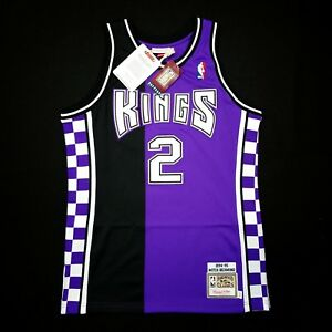 8e45832bd744 100% Authentic Mitch Richmond Mitchell Ness 94 95 Kings Jersey Size ...