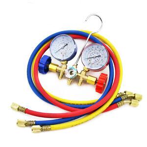 R12-R22-R134A-R502-HVAC-A-C-Refrigeration-Charging-Service-Manifold-Gauge-Set
