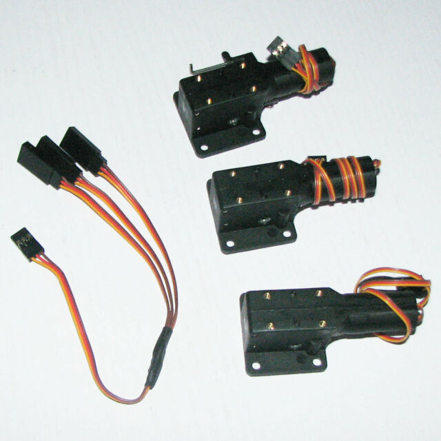 FLYFLY Part Ff1-106 Electric Retract Complete Set RC Model Airplane Landing  Gear