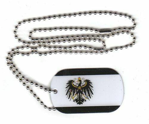 Dog Tag Gro/ßherzogtum Baden Erkennungsmarke 30 x 50 mm Fahne Flagge