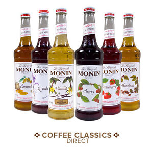 MONIN 70cl Premium Coffee Syrup **~MULTI LISTING~** Various Flavours!