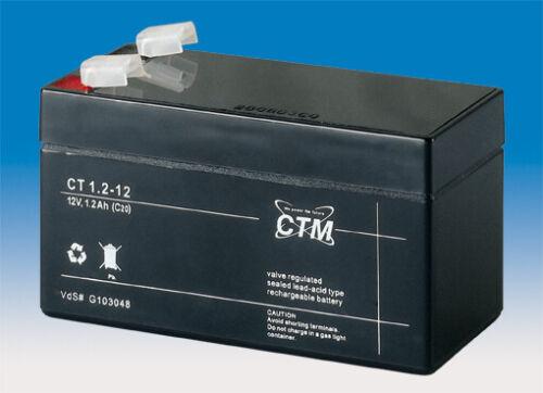 1,2 Ah 12 V CTM CT 1,2-12 VdS Batterie