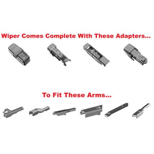 """Bosch AeroTwin Front Wiper Blades AP24U 24/"""" Inch and AP17U 17/"""" Inch Multi Clip"""