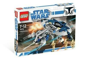 LEGO® Star Wars 7678 Droid Gunship - New sealed - Exclusive retired set
