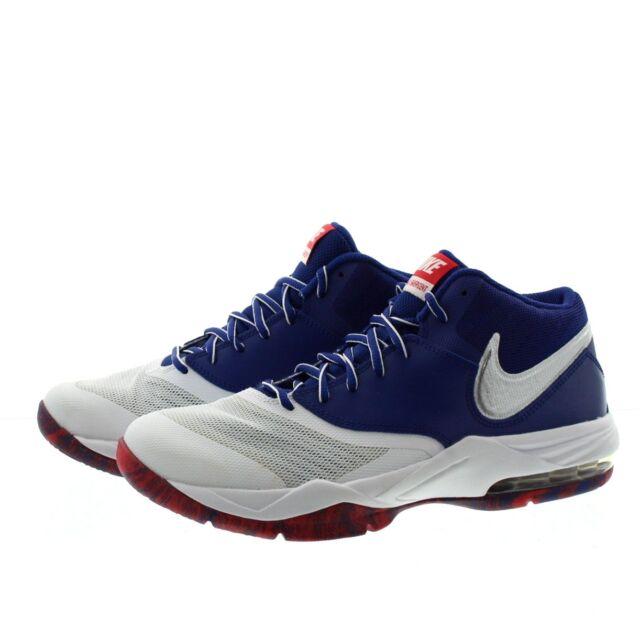 size 40 bd48c daf6b Nike Air Max Emergent Mens 818954-100 White Black Basketball Shoes ...
