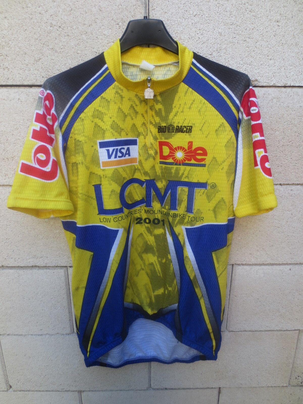Maillot cycliste LCMT MOUTAIN BIKE 2001 Bio Racer Lotto shirt trikot camiseta 4