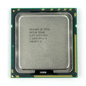 2.66GHz Intel Xeon X5550 Quad Core 6.4 GT//s 8MB L3 Cache Socket LGA1366 SLBF5