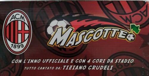 Mascotte AC MILAN 1899 DUDY 30 cm giochi Preziosi New Cori Stadio Opel Meriva