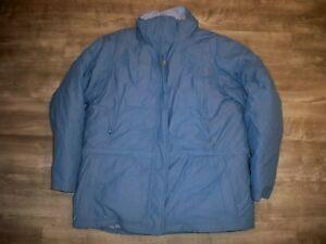 LL Bean plumas de ganso Bebé Azul Gore Tex Abrigo Chaqueta